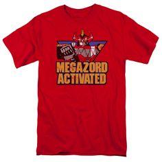 Power Rangers: Megazord Activated T-Shirt
