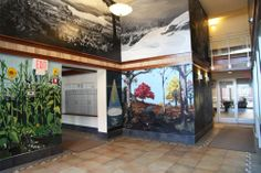 Japser Hall, murals by mackenzie younger