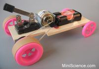 Pulley Motor Car Design ideas. Carson wants to build this