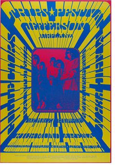 Jefferson Airplane at the Vancouver Trips Festival, May Poster by Bob Masse Hippie Posters, Rock Posters, Music Posters, Art Posters, Psychedelic Rock, Psychedelic Posters, Grateful Dead Poster, Rock And Roll History, Vancouver