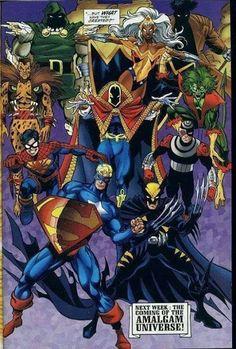 Amalgam = DC + Marvel Comics - °°