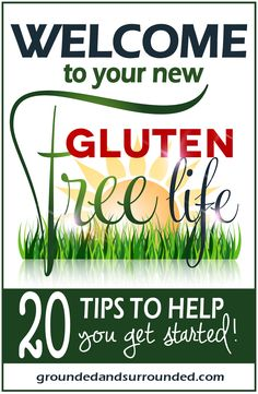 "Being told you have to go gluten free can be extremely overwhelming! Here are 20 great tips and the ""how to"" of going GF if you are Celiac, going Paleo, or just trying something new. There are many benefits of going GF so if you would like to regain your health without going crazy, check out these amazing resources- one being a gluten-free guide to ordering your food at your favorite restaurants and of course, amazing and healthy recipes!"