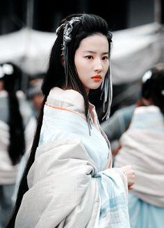 Liu Yi Fei in 'White Vengeance' (2011).