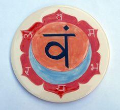 Swadhisthana chakra plate