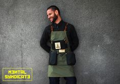 Leather apron menLeather cooking apron menLeather work apron menLeather bartender apronLeather kitchen apronGift for dadGift for him