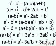 Gcse Math, Maths Algebra, Math Vocabulary, Life Hacks For School, School Study Tips, Math Tutorials, Maths Solutions, Math Notes, Math Formulas