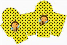 Abejas bebés: Cajas para Imprimir Gratis. | Ideas y material gratis para fiestas y celebraciones Oh My Fiesta!