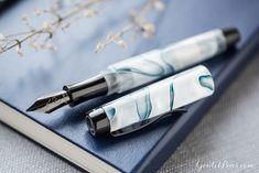 Monteverde Intima Fountain Pen – Glacier Blue