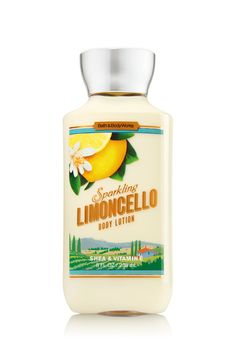 Sparkling Limoncello Body Lotion