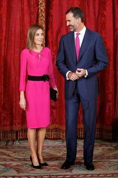 Spanish Royals Receives President of Honduras Republic in Madrid