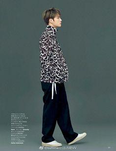 Kim Jaejoong for Harper's BAZAAR Japan [170418] #KimJaejoong #Prince_JJ #Hero #BAZAAR