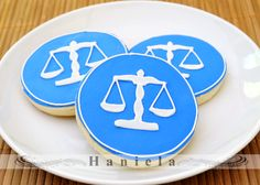 Scales of Justice Cookies