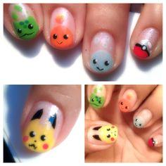 Pokemon Nails by PandaC on reddit.