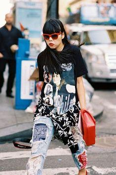 New York Fashion Week SS 2015....Susie (via Bloglovin.com )