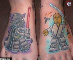 Lego Tattoos - Star Wars