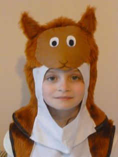 Red Squirrel costume for a child by SewCoolCreation on Etsy, $40.00