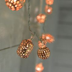 Copper Fairy Lights