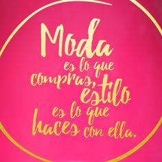 Marketing, Fashion Corner, Girly Quotes, Spanish Quotes, Fashion Quotes, Couture, Fashion Boutique, Instagram, Positivity