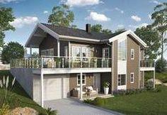 Blink Hus Bergsjø, flott bolig med stor stue og overbygd terrasse Home Fashion, Shed, Outdoor Structures, Mansions, House Styles, Home Decor, Mansion Houses, Room Decor, Sheds
