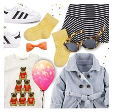 """Happy Birthday Olive"" by stacey-lynne ❤ liked on Polyvore featuring Mini Rodini, Ralph Lauren, adidas and Clips"
