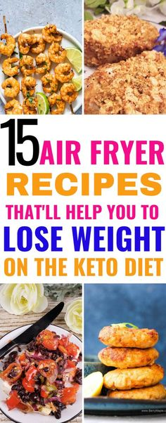 15 Keto Air Fryer Recipes That Are Quick, Easy & Healthy – Meraadi These keto air fryer recipes are THE BEST! I'm so glad I found these low carb air fryer recipes that are easy and healthy and can help me lose weight. Now I can enjoy these healthy keto Easy Healthy Recipes, Low Carb Recipes, Diet Recipes, Easy Meals, Quick Recipes, Jello Recipes, Cooker Recipes, Dessert Recipes, Air Fryer Recipes Keto