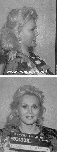 Zsa Zsa Gabor mug shot @ Mugshots.net -celebrity mugshots and photos! Even celeb's make mistakes! Famous police mug shots