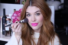 Yes, You Can Do a Bold Lip! Here's 3 Ways to Wear It (Lauren Andersen models 3 #Avon #lipsticks! Available here: https://ericagerlemann.avonrepresentative.com/)