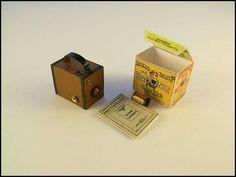 Miniature Kodak camera & accessories