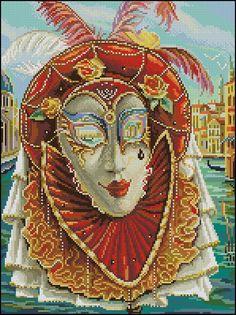Gallery.ru / Венецианская маска - Мои перенаборы 1 - Olya62
