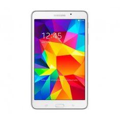 """La Galaxy Tab 4 est la dernière-née des tablettes numériques Samsung. Equipée du puissant système d'exploitation Android 4.4 KitKat et du Wi-Fi, cette tablette ultralégère offre une prise en main des plus confortables grâce à son format 7"""". Pourvue d'un large écran tactile avec technologie multipoint, la tabletteGalaxy Tab4 bénéficie de l'interface Samsung TouchWiz. Alimenté par un processeur Quad Core de 1,2 GHz, cet appareil permet de naviguer sans problème sur tous les sites du Web via…"""