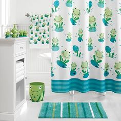 Beans accessories and bath accessories on pinterest for Frog bathroom ideas