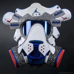 http://SneakersCartel.com Tag someone who'd appreciate this gas mask ? #sneakers #shoes #kicks #jordan #lebron #nba #nike #adidas #reebok #airjordan #sneakerhead #fashion #sneakerscartel