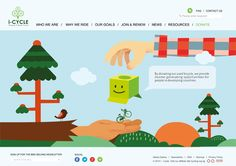 School Project ( i-Cycle Campaign Project ) on Behance
