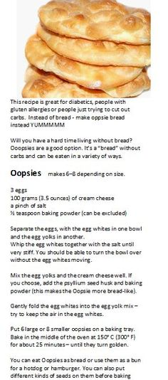 Gluten-free bread - no carbs -got to try this!