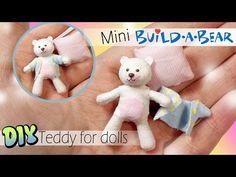 Miniature (NO SEW) Build A Bear Inspired Teddy Tutorial