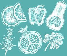 Clare Melinsky | Illustrator | Central Illustration Agency #illustration #print #printmaking #floral #flower #linocut Linocut, Food Illustrations, Painting, Ap Art, Illustration Art, Art, Linocut Art, Prints, Art Class