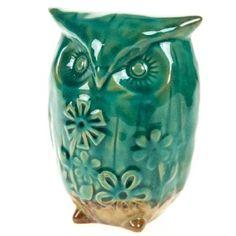 Ceramic Owl - Small http://shop.crackerbarrel.com/Ceramic-Owl-Small/dp/B00AIVXPEY