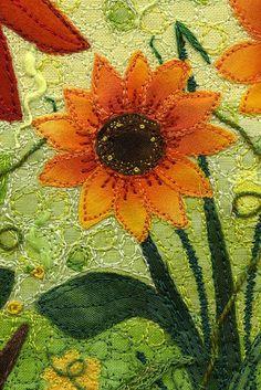 quilt detail by Kirsten Chursinoff