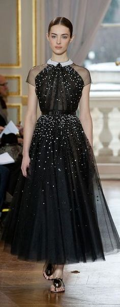 what a darling evening dress. Christophe Josse - Haute Couture Spring 2013