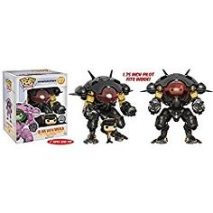 Funko Pop! Vinyl Overwatch Carbon Fiber D.Va & MEKA Buddy Exclusive 1 left!!!