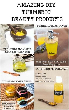 Top 10 DIY Turmeric beauty products for clear glowing skin Beauty Secrets, Beauty Hacks, Beauty Products, Beauty Tips, Diy Beauty, Beauty Skin, Beauty Makeup, Beauty Ideas, Makeup Tips