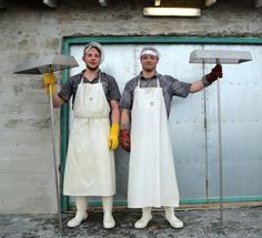 Salt Makers in Iceland