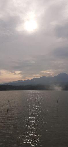 Setenang selingkup air waduk Celestial, Mountains, Sunset, Nature, Travel, Outdoor, Outdoors, Naturaleza, Viajes