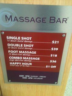 Photo of Massage Bar - Sacramento, CA, United States. Le Menu at Massage Bar Massage Bar, Sacramento, How To Make Money, United States, Photos, Photographs