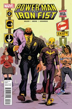 Power Man and Iron Fist #2, la preview