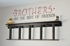 I love this saying for the twins room someday!