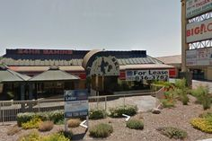 The Underworld Bar & Grill (The End)--3550 S. Decatur Blvd., Las Vegas, NV 89103. This Google Street View pic was from before it became The Underworld. I'm guessing it was once known as The Black Label.