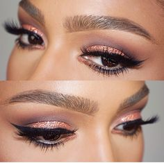 eye-catching coral will make brown eyes stand out. http://thepageantplanet.com/category/hair-and-makeup/
