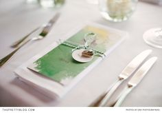 Green watercolour wedding stationery   Stationery:  Sylvie Bohnet, Venue: Maierl Alm & Chalets, Photography: DNA Photographers