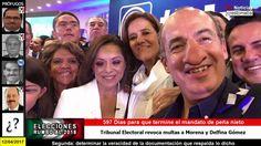 Tribunal Electoral revoca multas a Morena y Delfina Gómez